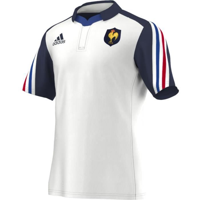 maillot de rugby france adidas f prix pas cher cadeaux de no l cdiscount. Black Bedroom Furniture Sets. Home Design Ideas