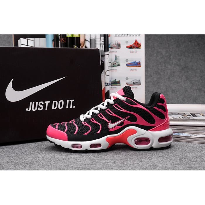 a8df0f9bf12b ... Running Sports Snearker Blanche Noir Rouge. ESPADRILLE Baskets Nike Air  Max Plus TN KPU Femme Chaussures