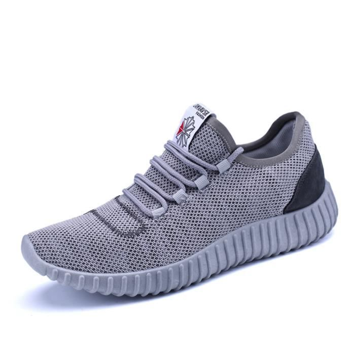 Hommes Chaussures 2017 ete Luxe Durable Breathable Textile Sneakers Respirant Confortable Antidérapant Grande Taille 39 jAPFxJ0MxV