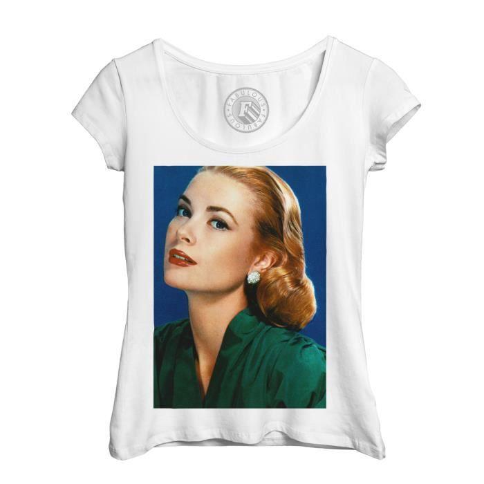 T-Shirt Femme Grace Kelly Actrice Vieux Cinéma Original 11