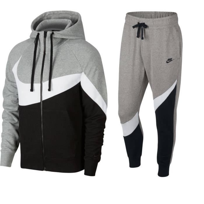 cheap for sale shop authorized site NIKE ENSEMBLE SPORTSWEAR GRIS FRENCH TERRY ADULTE 2019 maillot jordan