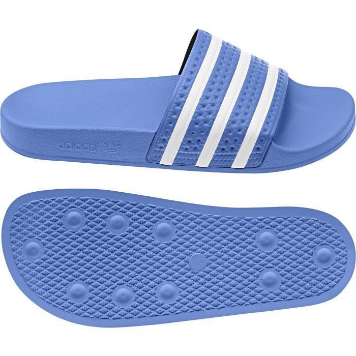Claquette adidas adilette Bleu cielblancbleu ciel Achat