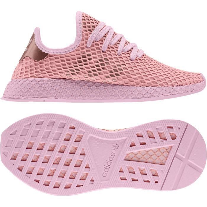 Basket toile adidas - Cdiscount