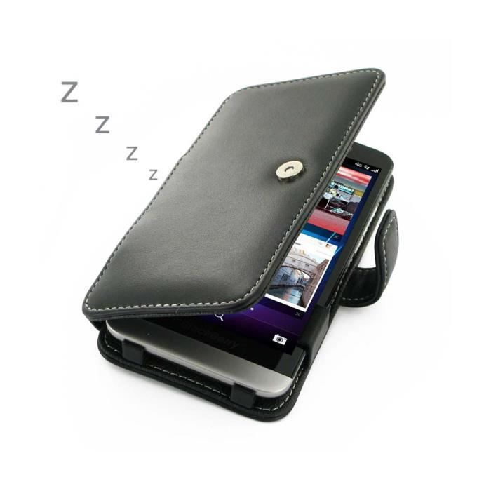 Etui housse blackberry z30 pdair folio livre achat for Housse blackberry