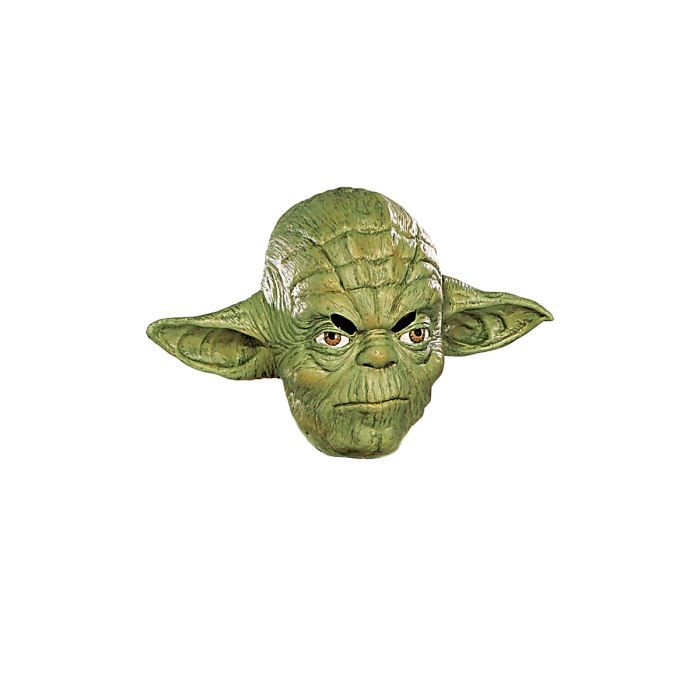 masque yoda star wars vinyle enfant achat vente masque decor visage cdiscount. Black Bedroom Furniture Sets. Home Design Ideas