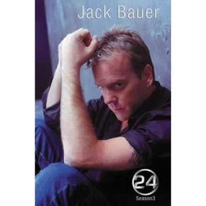AFFICHE - POSTER Poster 24 Heures Chrono - Saison 3 Jack Bauer (98