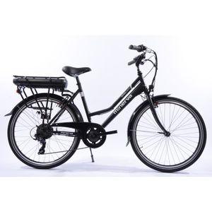 VÉLO ASSISTANCE ÉLEC Vélo électrique ville Minerva- 80 km autonomie- 7