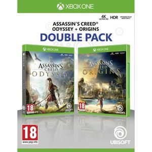 JEU XBOX ONE Compilation Assassin's Creed Origins + Assassin's