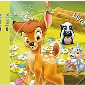 Livre 3-6 ANS DISNEY - Bambi - Livre-CD Mon Histoire à Ecouter