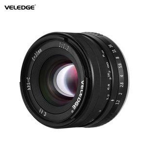 OBJECTIF VELEDGE 35mm F - 1.2 Super haute résolution Caméra