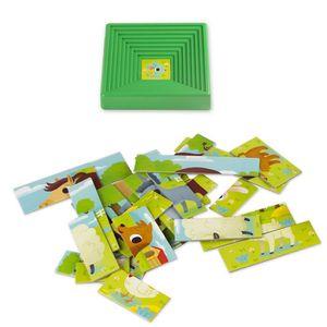 PUZZLE Lisciani-Lisciani-47420-Puzzle avec Cadre-Baby For