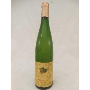 VIN BLANC riesling schwach vendanges tardives liquoreux 1996