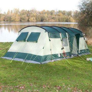 TENTE DE CAMPING Skandika Hurricane 8 Tente de camping tunnel fa…