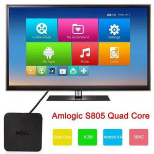 BOX MULTIMEDIA MXQ Android Quad Core 4.4 Smart set TV BOX XBMC KO