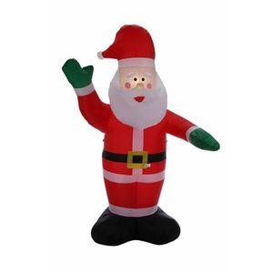 PERSONNAGES ET ANIMAUX 2.4m Père Noël gonflable • décorations de Noël • i