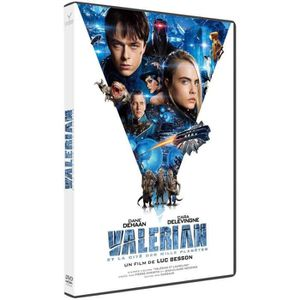 DVD FILM Valérian et la cité des mille planètes