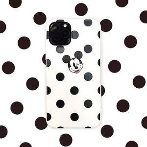 COQUE - BUMPER Coque iPhone 11 PRO,Disney Mickey Blanc 1 Antichoc