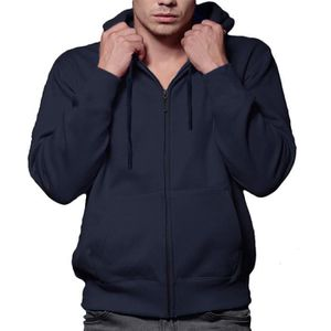 Sweat zippe capuche homme