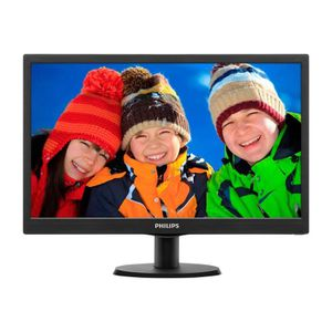 ECRAN ORDINATEUR Philips V-line 203V5LSB26 Écran LED 19.5