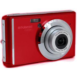 APPAREIL PHOTO COMPACT POLAROID Compact IX828 - Rouge -20 Mpixels