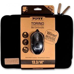 SACOCHE INFORMATIQUE Housse Ordinateur Portable 13'3 + Souris Optique -