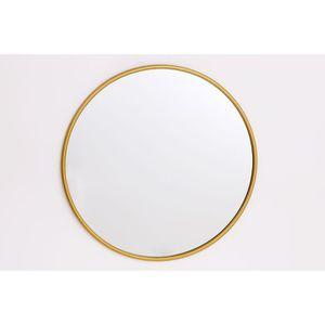 MIROIR Miroir - 50 cm - Or