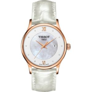 MONTRE Montre Femme Tissot T-Gold Rose Dream T91421076…