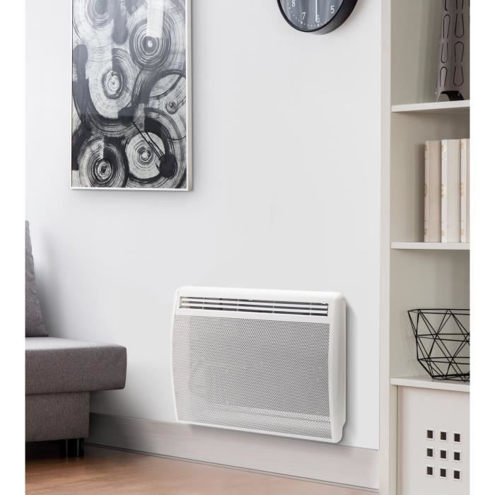 THOMSON 1000 watts - Radiateur rayonnant - Thermostat électronique diigital - Programmable
