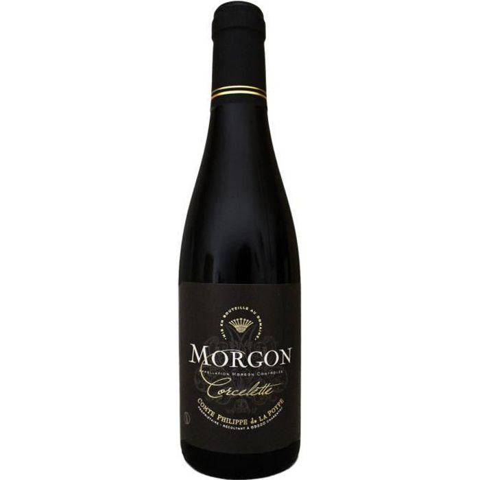 Morgon, Corcelette, Domaine Comte Philippe de la Poype (Beaujolais), Demi-bouteille 37.5cl, 2017 - Vin Rouge
