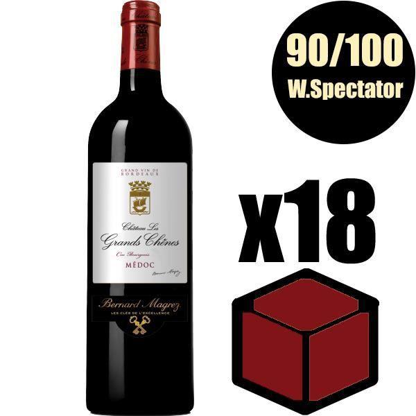 X18 Château Les Grands Chênes 2011 75 cl AOC Médoc Rouge Cru Bourgeois Vin Rouge
