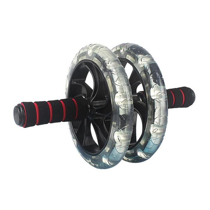 1 roue abdominale portable de formateur d'abdomen pour le fitness