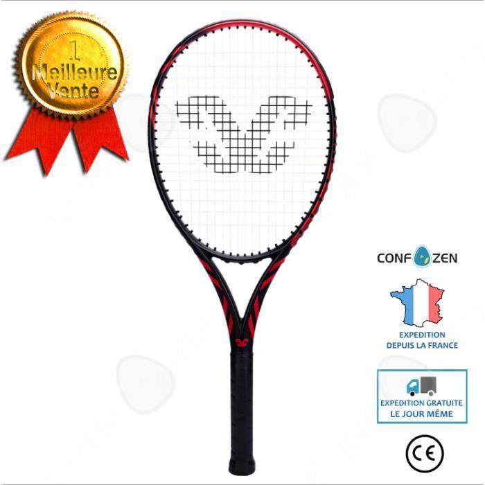 CONFO® Raquette de tennis 27 pouces 1 pack de fitness pour adultes