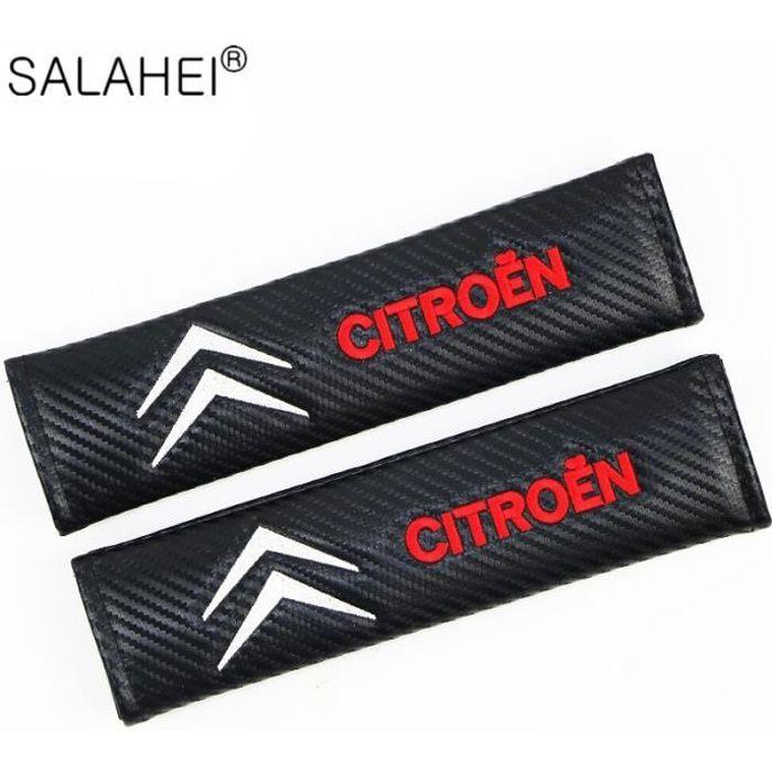 Accessoires auto,Protection Épaule couverture de ceinture de sécurité de voiture pour Citroen C1 C2 C3 C4 C5 C6 C8 C4L DS3 DS4 DS5