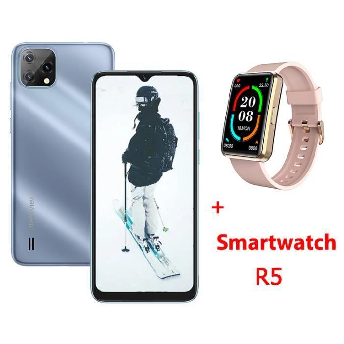Smartphones Blackview A10 16Go Pas Cher 5.0pouces 2.5D HD Ecran Android 7.0 Empreinte Digitale 5MP Appareil 2800mAh Batterie - Or