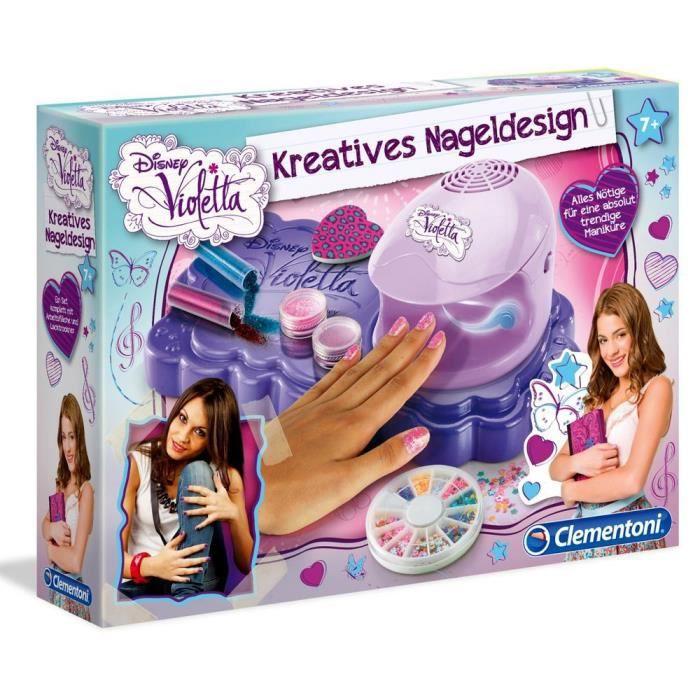 Violetta - Creative Nail Design - Set de Manucure pour les Enfants