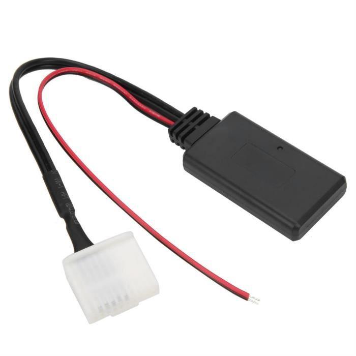 EBTOOLS adaptateur audio 20 broches Câble Audio Bluetooth filaire prise de musique 20Pin adaptée pour Camry / Corolla / Yaris /