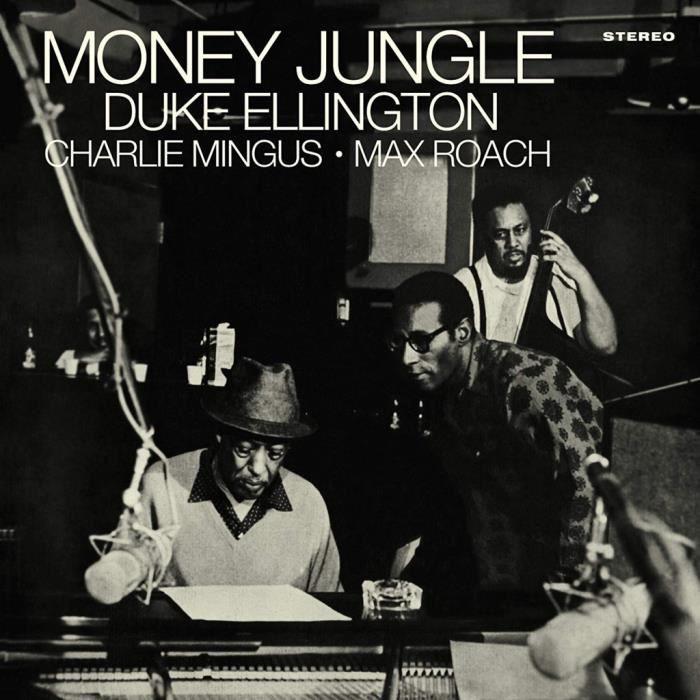 Poster Affiche Ellington Mingus Money Jungle Album Cover Jazz Classique 61cm x 61cm