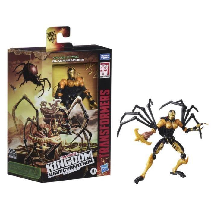Transformers Generation War for Cybertron - Black Arachnia Deluxe