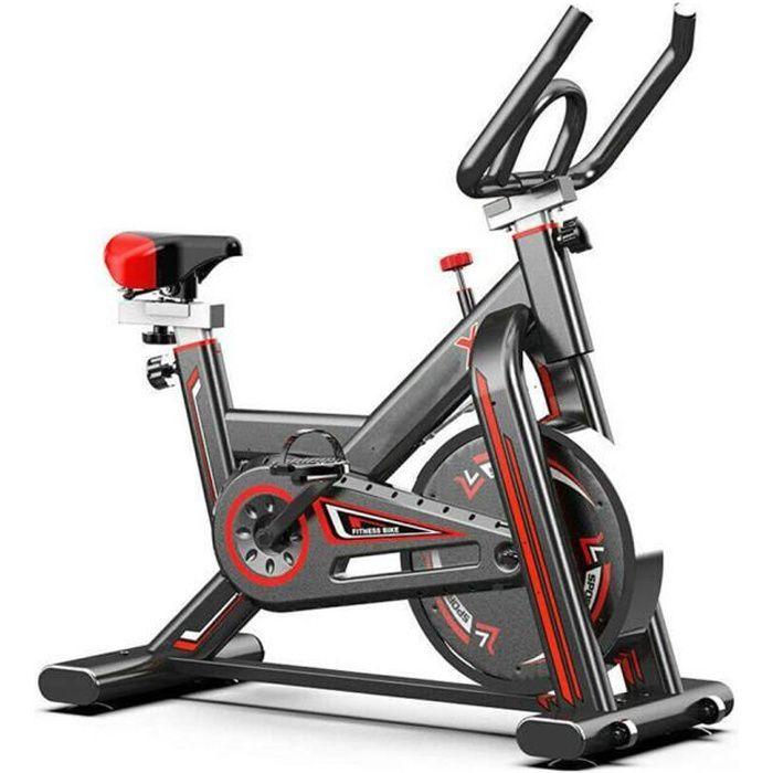 KirinSport Vélo d'Appartement Fitness Exercice Bike Le Gymnase avec Moniteur de Fréquence Cardiaque Vélo Sport Biking