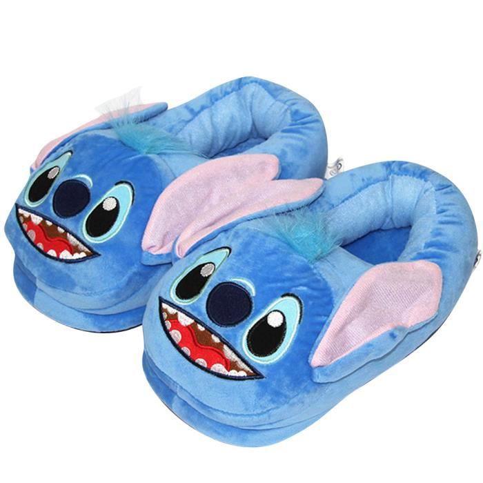 Chaussons Stitch Bleu Adulte
