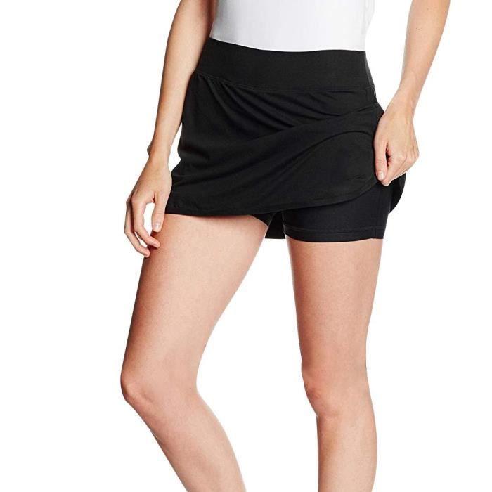Jupe courte de sport Jupe de fitness yoga à séchage rapide et extensible(L)-SEC