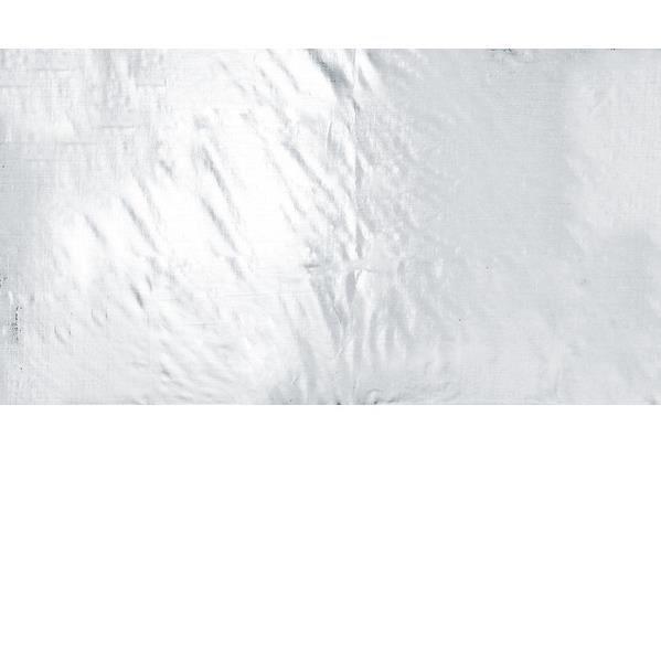 Nappe métallisée argent (x1) REF/4673
