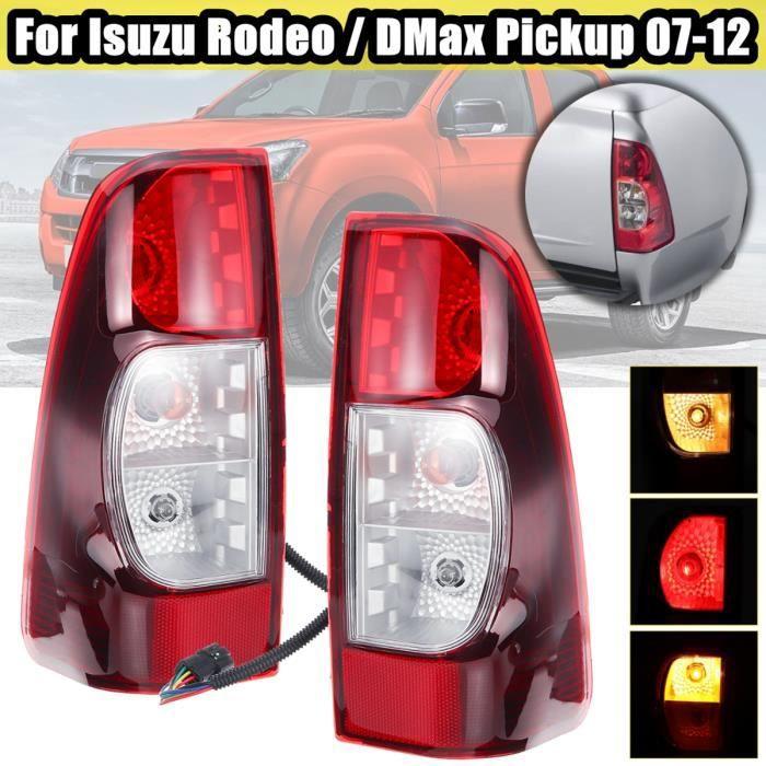 TEMPSA Paire Feux de freinage arrière gauche et droite pour Isuzu Rodeo/DMax Pickup 2007 - 2012