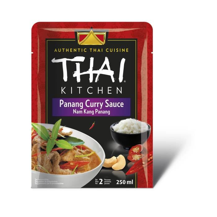 Sauce curry Panang 250 ml Thai Kitchen