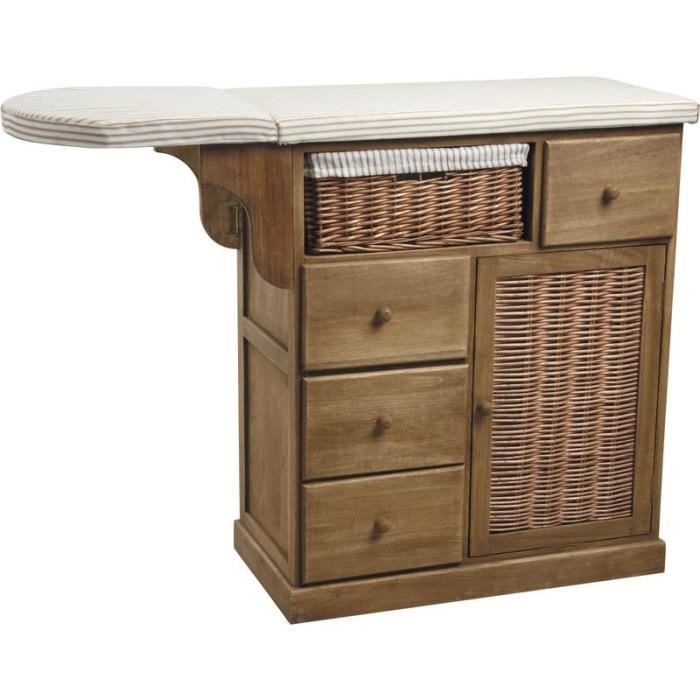 commode table repasser en bois achat vente lot soin. Black Bedroom Furniture Sets. Home Design Ideas