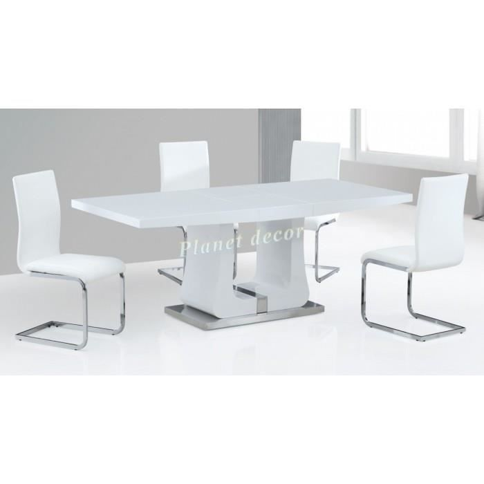 Table ultra design avec rallonge greys achat vente for Table avec rallonge
