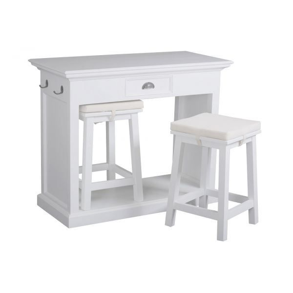 Table de bar de cuisine for Modele de cuisine avec table bar