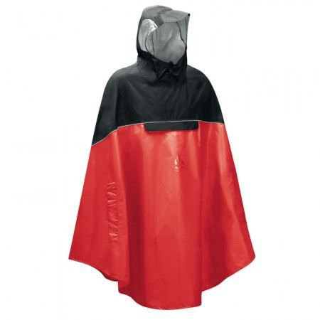 cape de pluie poncho v lo vaude rouge prix pas cher cdiscount. Black Bedroom Furniture Sets. Home Design Ideas