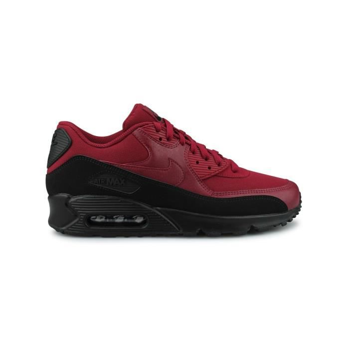 Baskets Nike Air Max 90 Essential Rouge.