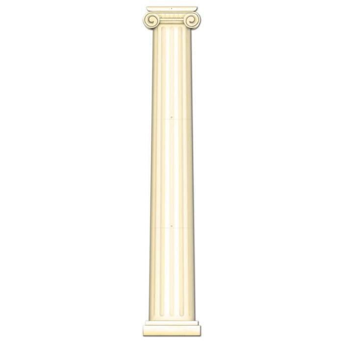 Colonne romaine carton imp 2 faces m achat vente d cors de table c - Decoration romaine antique ...